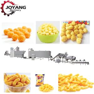 2019 Corn  Snack s  Food  Extruder Machines Puffed  Snack s Production Line
