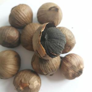 Fermentation dried black  garlic