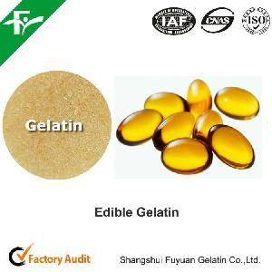 natural premium  bovine  skin  gelatin  used for softgels