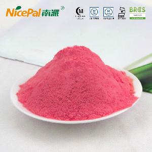 Red dragon fruit powder for beverage