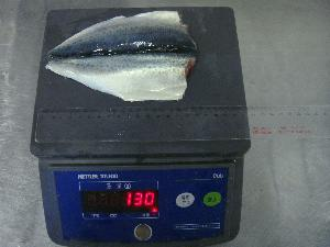 Chinese Frozen  Fish  Block Frozen Butterfly Mackerel  Fish  Flaps For  Market