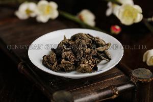 Wild Black fungi Mushroom