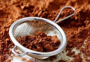 Sugar free chocolate malt drink powder material
