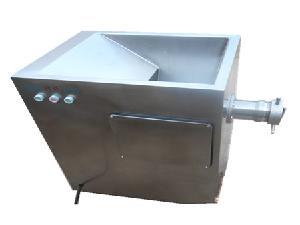 Large capacity industrial meat grinder