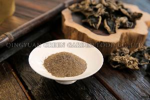 Black  fungi   mushroom  powder