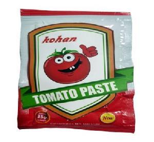 sachet tomato paste 70g with yur private label