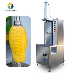 Промышленная вертикальная одноголовочная машина для шелушения фруктов и фруктов TS-P30