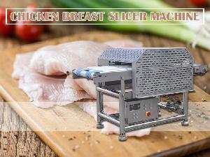 chicken   breast  cutting machine