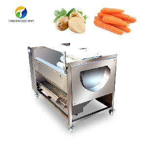 Commercial stainless steel potato cleaning and peeling machine (TS-M600)
