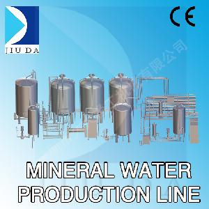 50 тонн в час Полная линия по производству минеральной воды