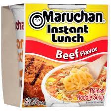 BEEF   FLAVOR  Ramen Noodle Soup