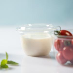 Raw Organic Pure yoghurt cream powder