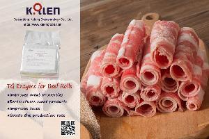 Трансглутаминаза для рулета из говядины или баранины