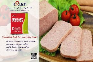 Monascus Red for Luncheon Meat