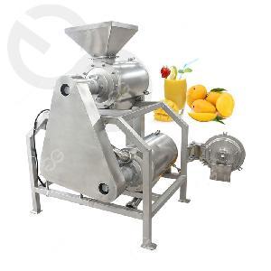 Automatic Fruit Mango  Pulp ing Machine Mango  Juice  Making Machine