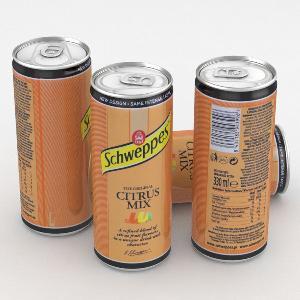 Schweppes 330ml Cans TONIC, CITRUS MIX,  LEMON , ORANGE,