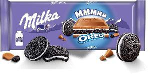 Milka Oreo 300g / Milka Chocolate  Vanilla  Cream 100g / Milka Choco Biscuits 150g