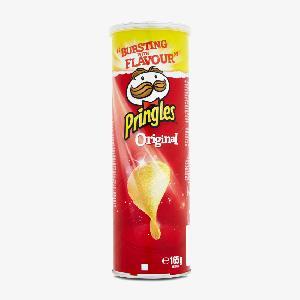 Pringles Original 165g / Pringles Cheesy  Cheese  165g / Pringles Paprika 165g / Pringles Sour  Cream  &