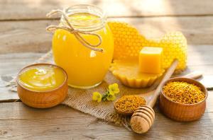 Natural Honey and Beewax