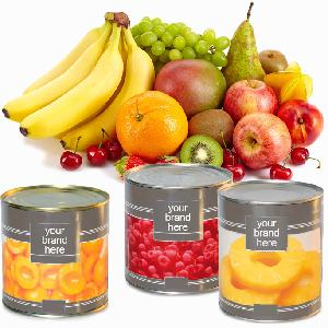Canned Fruits, Canned Meat, Canned Vegetables and Canned Food