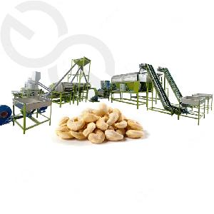Automatic Industrial Cashew Nuts Shelling Processing Machine