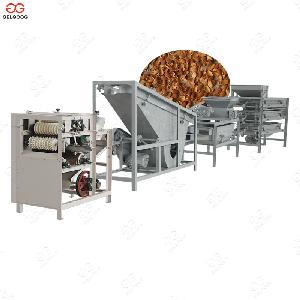 Automatic Almond Shelling Cracking Machine Production Line