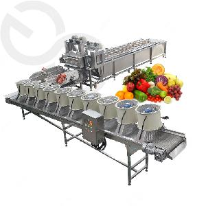 Automatic Fruit and Vegetable Washing and Drying Machine