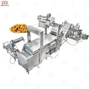 Automatic Fish Skin/Pork Rind/Falafel Frying Production Line
