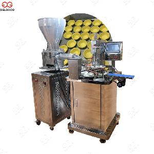 Automatic  Egg  Tart Shell Pressing Machine Solution
