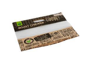 hot selling flexo printing anti fog roast chicken paper bag