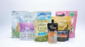 customized flexible packaging bags for pet food