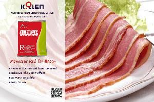 Monascus Red for Bacon