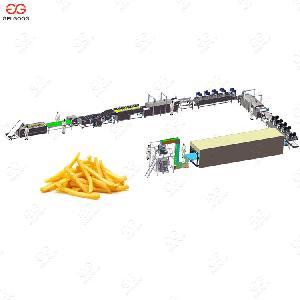 300 кг/ч автоматическая замороженного картофеля фри производственной линии