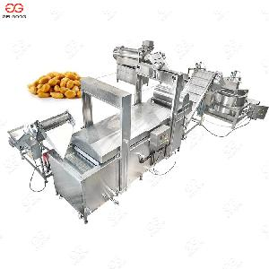 Industrial Continuous Broad Beans Peanut Frying Machine