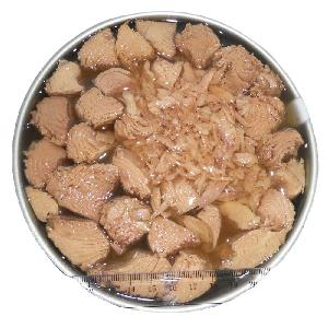 Canned  tuna  chunk in  vegetable   oil