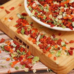 Dehydrated mixed vegetables dried mix veggies