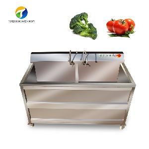 Fruit vegetable washing machine/vegetable cleaner with ozone