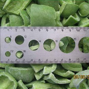 IQF  Замороженный Нарезанный Кубиками Сладкий Зеленый Перец