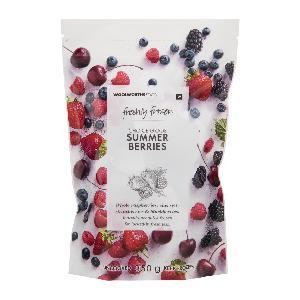 Freshly Frozen Summer Berries 350g/Freshly Frozen Raspberries 400g/Freshly Frozen Strawberries 350g