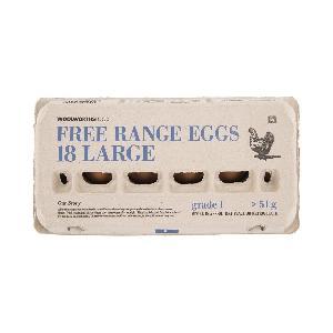 Free Range Large Eggs 18Pk/Free Range Extra Large Eggs 18Pk/Free Range Large Eggs 6Pk