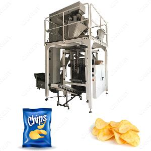 Full Automatic Potato Chips Plantain Chips Packaging Machine