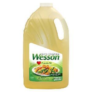 Wesson Canola Oil - 128 oz