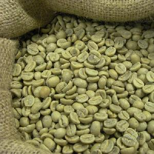 Green coffee beans available