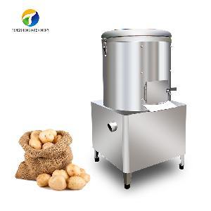 Vertical commercial stainless steel potato peeler for sale TS-P30