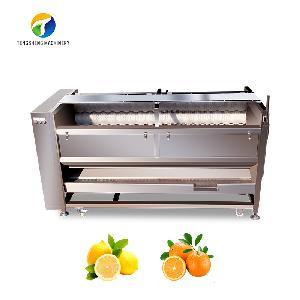 Stainless steel carrot potato washing and peeling machine TS-M800