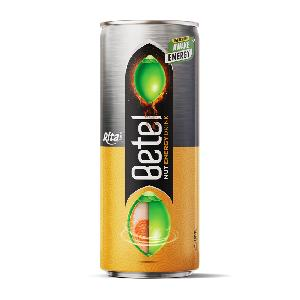 Betel   nut  Energy drink recovery power 250ml slim cans from RITA beverage