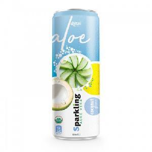 Private Label Brand Sparkling Aloe Vera Coconut 320ml