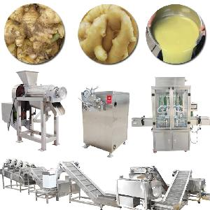 Industrial Automatic Ginger  Juice   Processing   Line