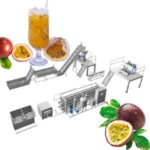 Automatic Passion Fruit Juice Production Processing Line