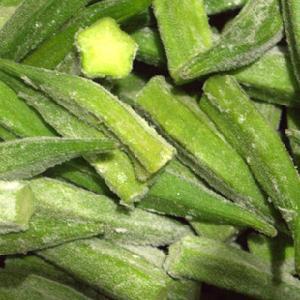 frozen whole okra